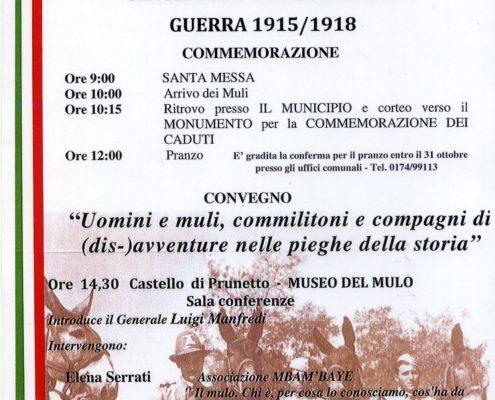 PRUNETTO MULI 2018 locandina